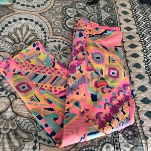 Lilly Pulitzer Pants - Lilly Pulitzer Luxletic Cropped Legging